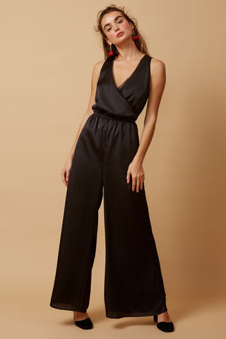 Whisper Pantsuit - Black