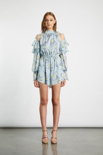 Atlantic Playsuit - Blue