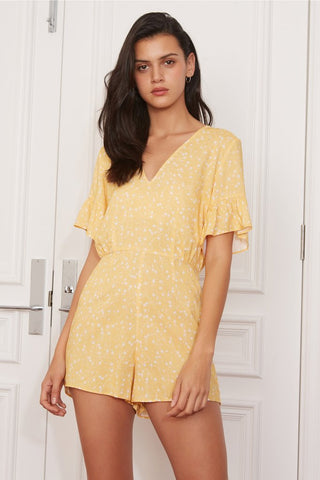 Celebrated Playsuit - Butter Sparkle