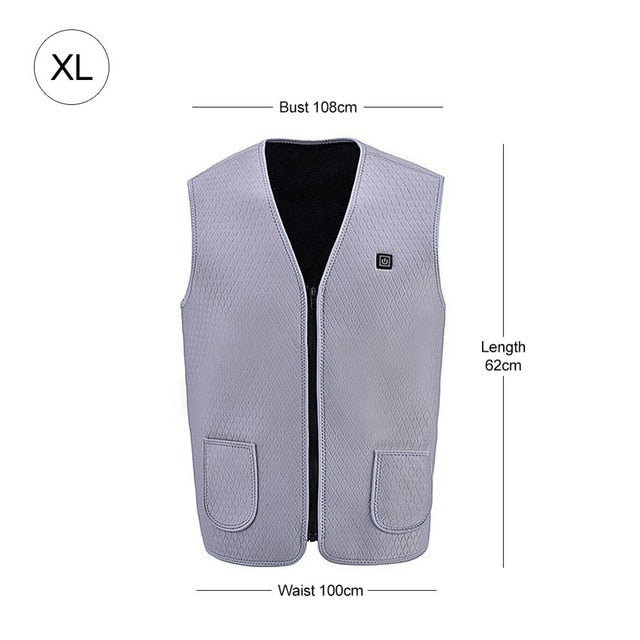 Heating Vest Jacket Winter
