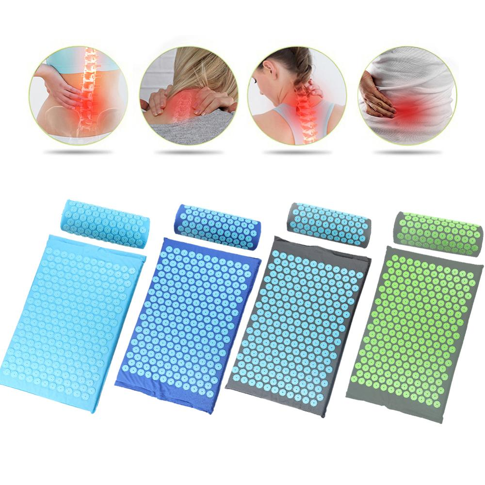 Acupressure Massage Therapy Mat + Pillow