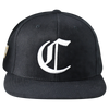 "Chicago ""C"" Snapback - Black"