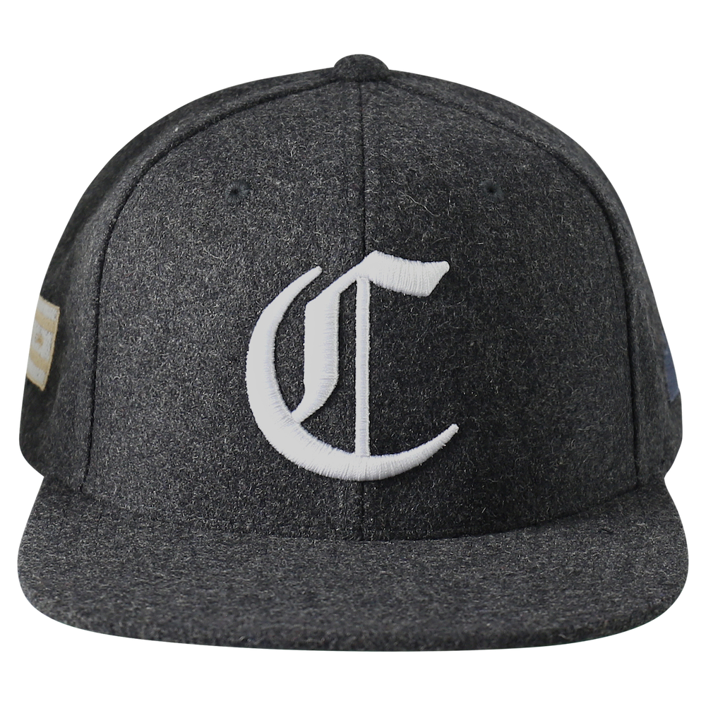 "Chicago ""C"" Snapback - Charcoal"