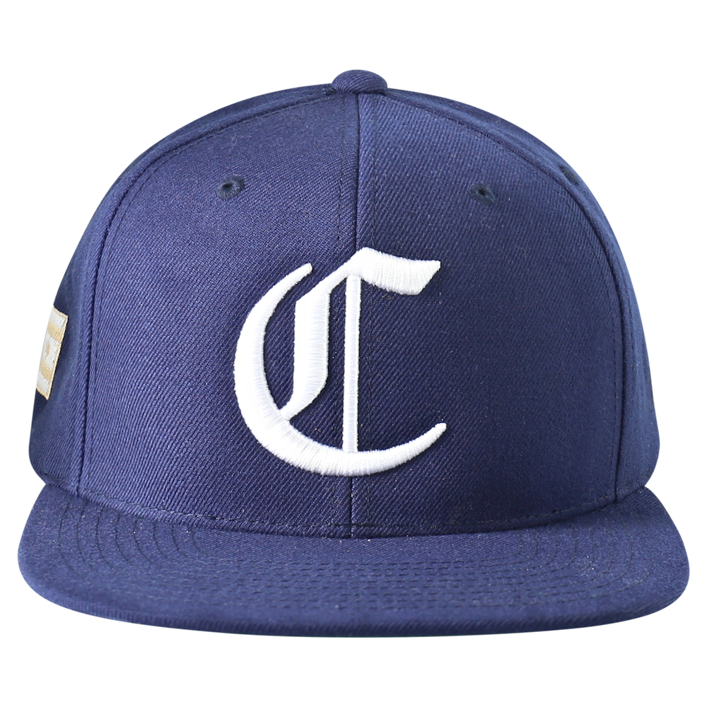 "Chicago ""C"" Snapback - Navy"