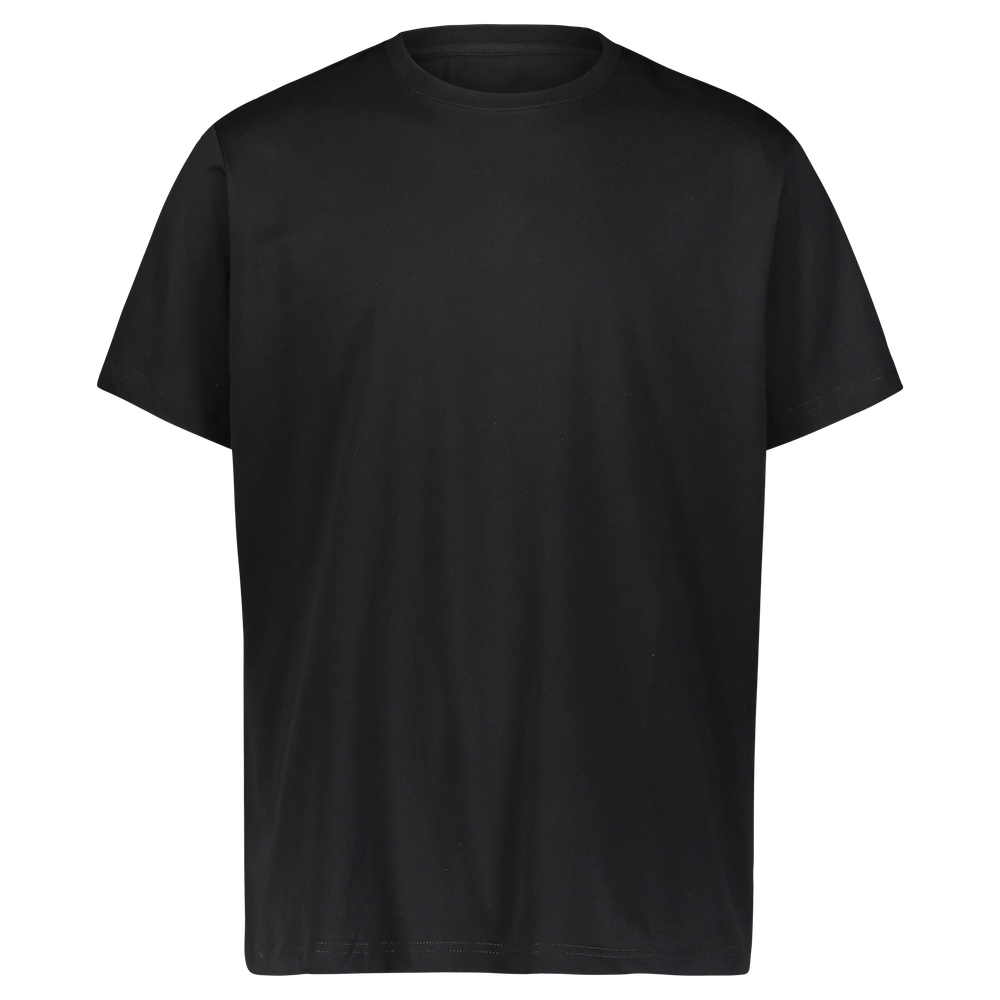 Performance Cotton T-Shirt - Black