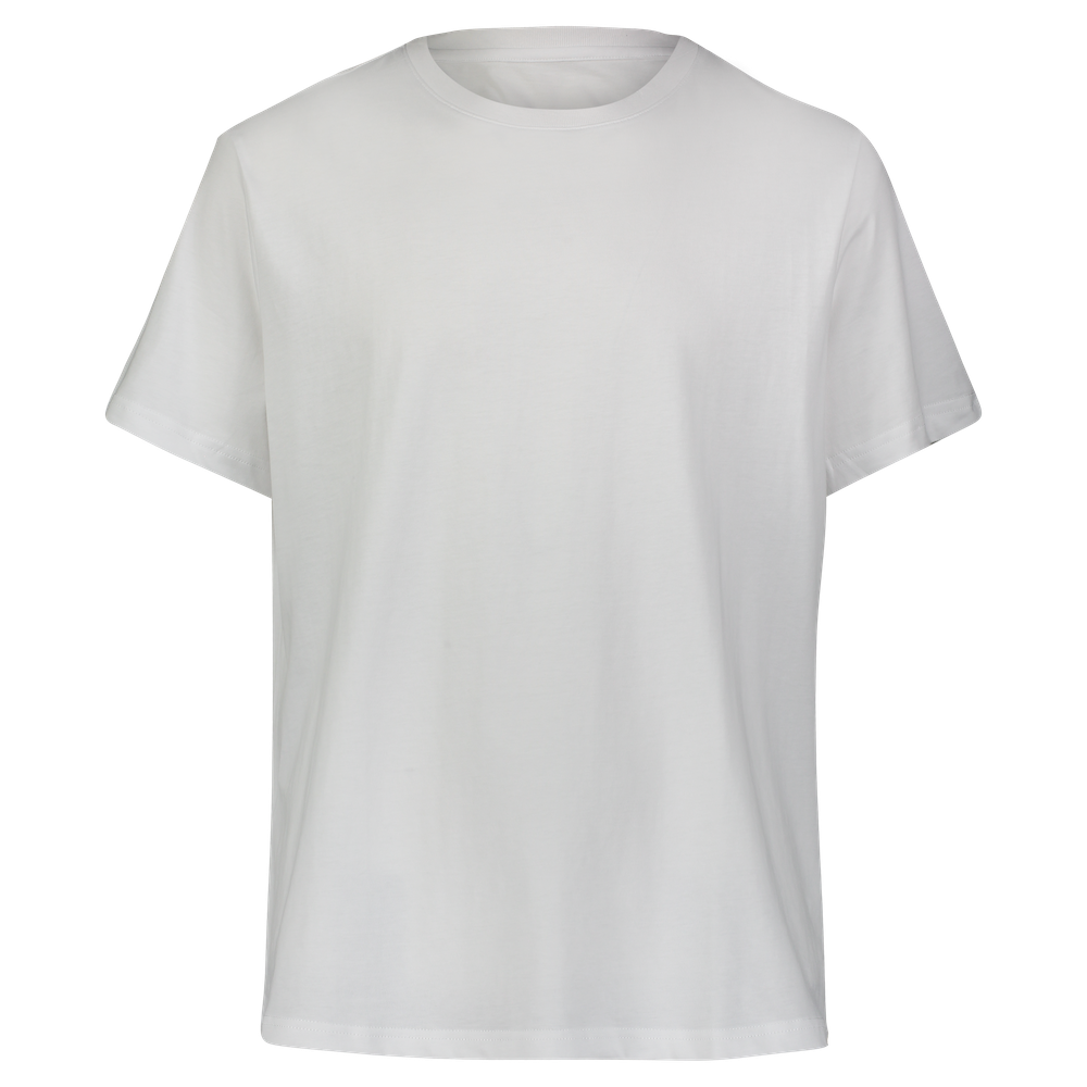 Performance Cotton T-Shirt - White