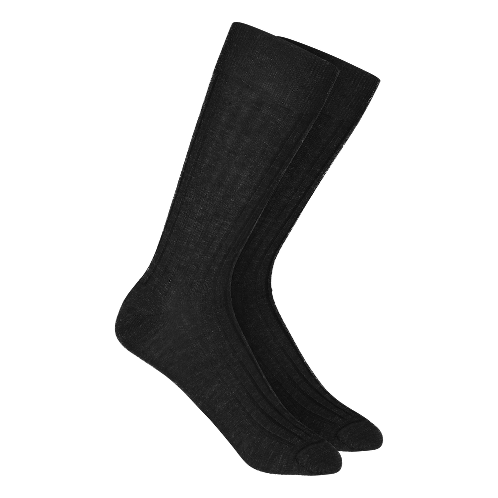 Merino Wool Dress Socks - Grey