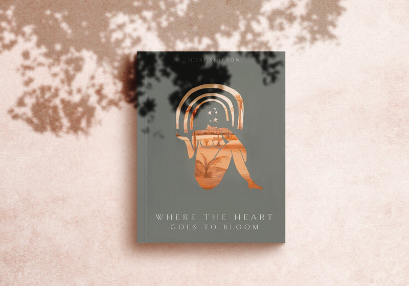 WHERE THE HEART GOES TO BLOOM - POETRY BOOK