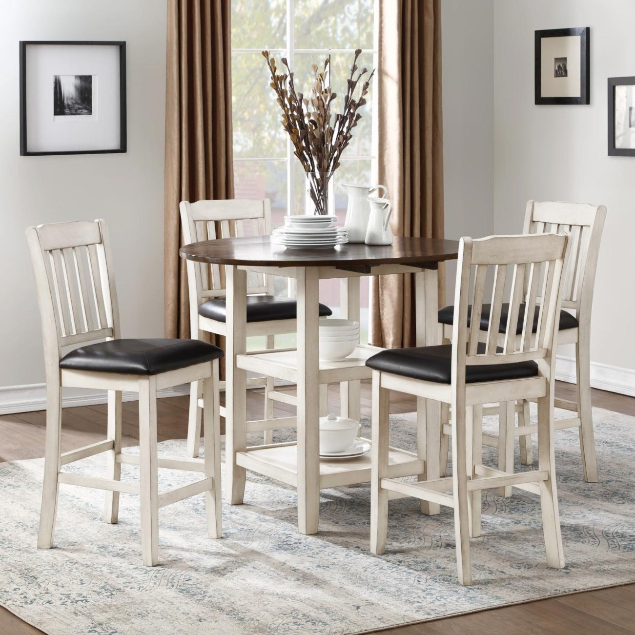 Dining Kiwi 5 Piece Table & Chairs