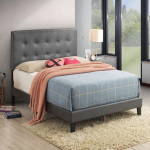 Andi Grey Platform Bed