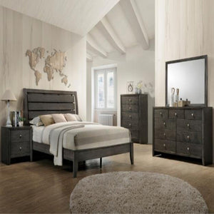 Evan 4 Piece Bedroom Group Set
