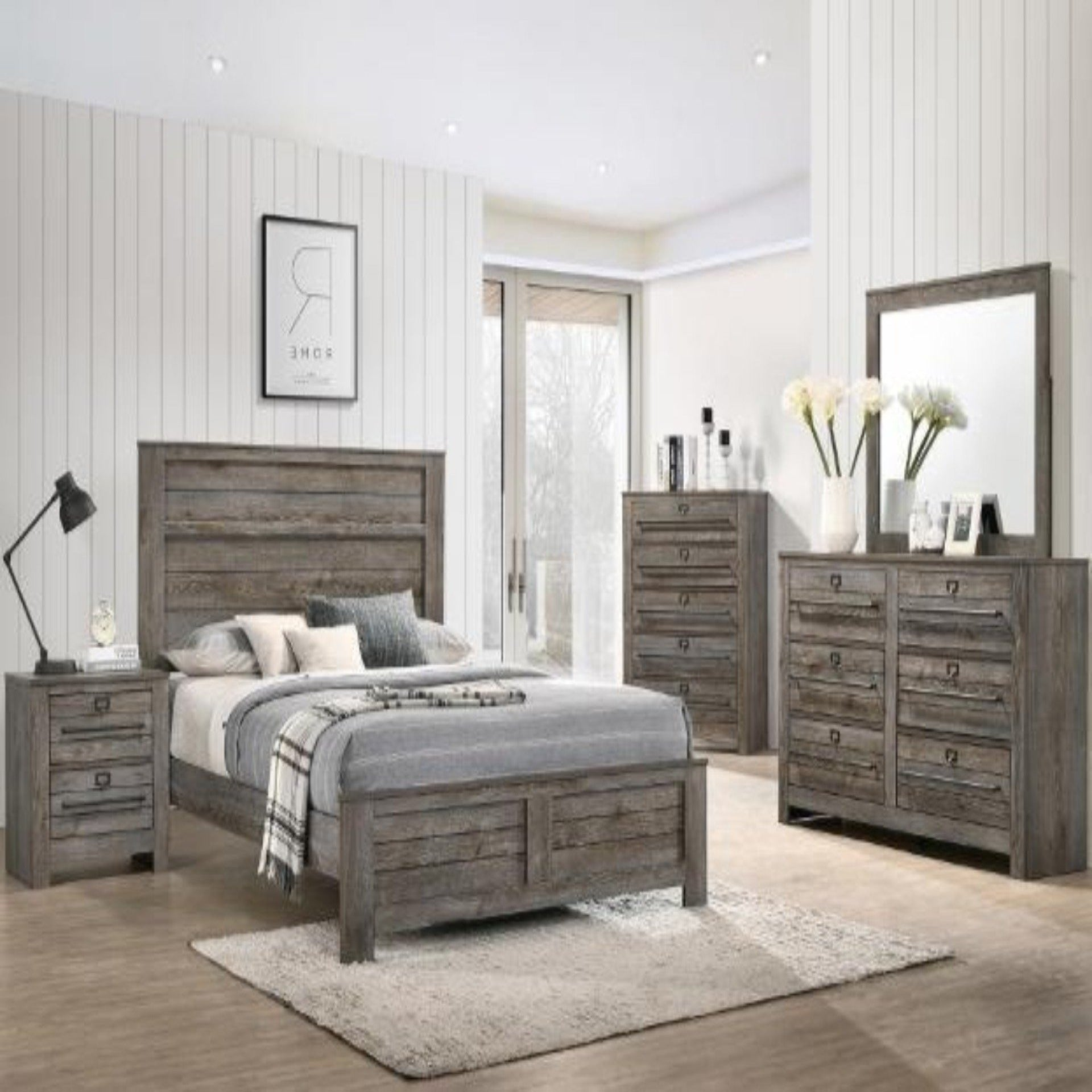 Bateson 4 Piece Bedroom Set