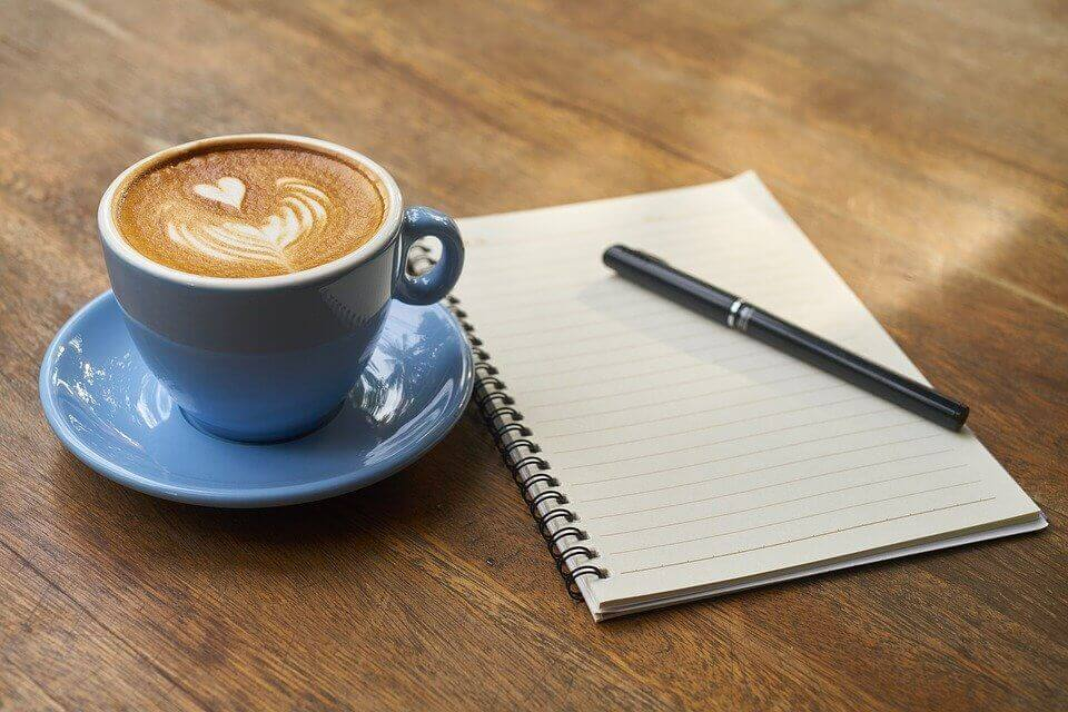 Coffee Pen Notebook