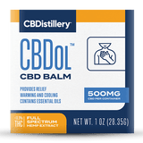 CBDDol Topical Salve - 500mg NEW - 1oz - Box