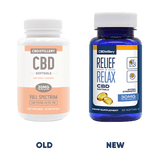 CBDistillery - Full Spectrum CBD Softgels – 30mg – 60 Count