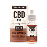 CBDistillery - CBD Pet Tincture - 600MG - 30ml - PET - Tincture with Box - Buy CBD Online