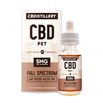 CBDistillery - CBD Pet Tincture 150MG - 30ml - FS Pet Tincture with Box Buy CBD Online