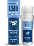 CBDistilleryRX - Broad Spectrum Cooling Relief Stick -1000mg