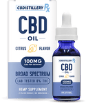 CBDistilleryRx - Broad Spectrum CBD Oil - Citrus - 3000mg - 30ml