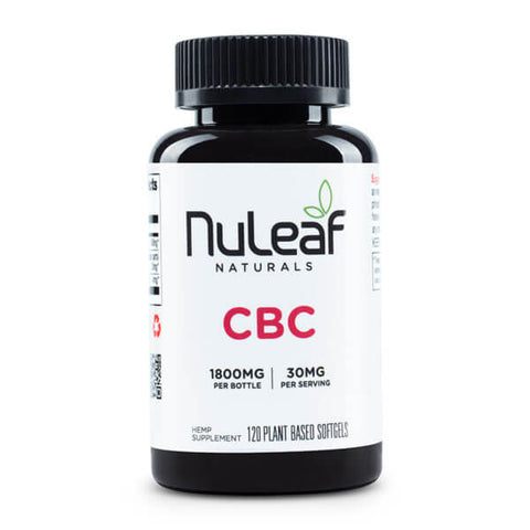 NuLeaf Full Spectrum CBC Capsules 1800mg