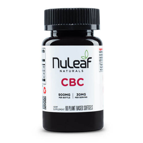 NuLeaf Full Spectrum CBC Capsules 900mg
