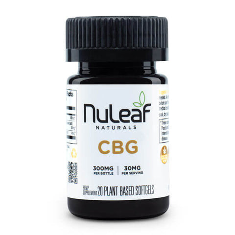 NuLeaf Full Spectrum CBG Capsules 300mg