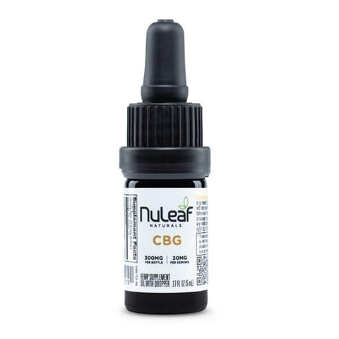 NuLeaf Naturals - CBG Oil - 300mg bottle