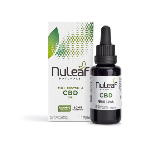 NuLeaf Naturals - Oil - 1800mg box bottle