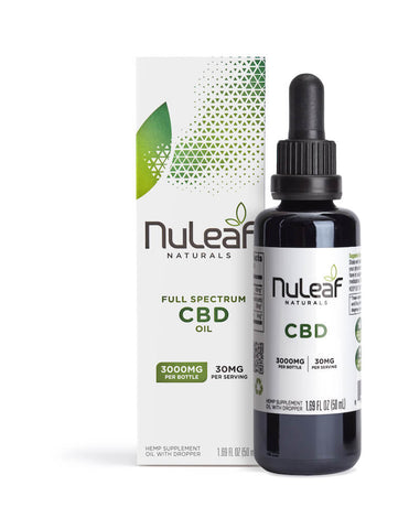 NuLeaf Naturals - Oil - 3000mg box bottle