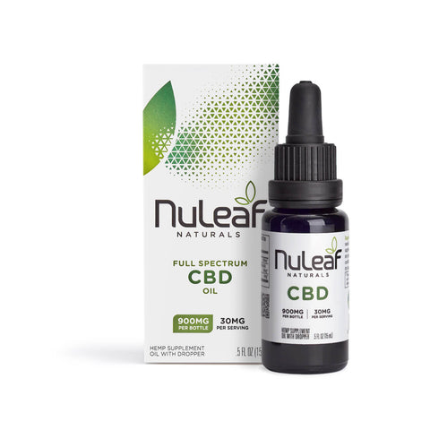 NuLeaf Naturals - Oil - 900mg box bottle buy online