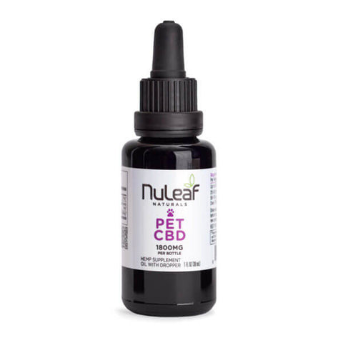 NuLeaf Naturals - Pet Oil - 1800mg bottle