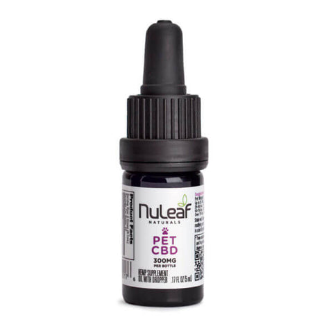 NuLeaf Naturals - Pet Oil - 300mg bottle
