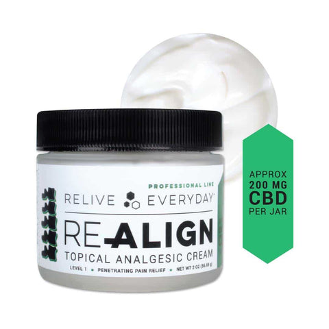 Relive Everyday - RE-ALIGN Topical Analgesic Level 1