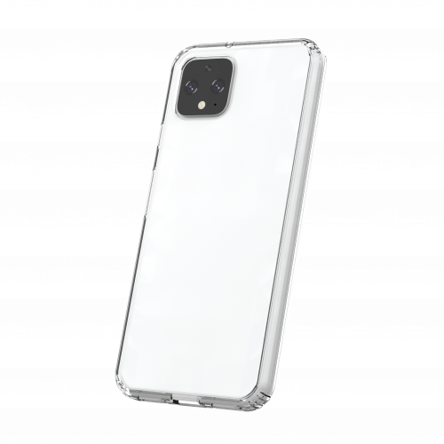 TUFF 8 CLEAR BACK CASE FOR GOOGLE PIXEL 4