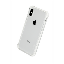 Load image into Gallery viewer, TUFF 8 BACK CASE WITH WHITE TRIM TRIPLE INJECTION FOR IPHONE X/Xs