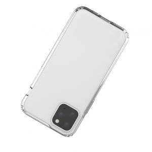 "TUFF 8 CLEAR BACK CASE FOR IPHONE 11 5.8"" (PRO)"