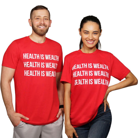 Health is Wealth Comfort Tee
