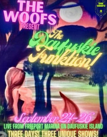 The Wolfs, performing at the Old Daufuskie Crab Co on Sept 24th - 26th
