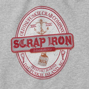 Gildan Short Sleeve SCRAP IRON Grey T-shirt - Daufuskie Difference