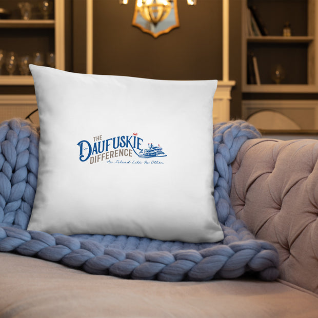 Basic Pillow - Daufuskie Difference