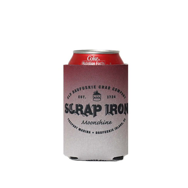 NEW Scrap Iron Koozie - Daufuskie Difference