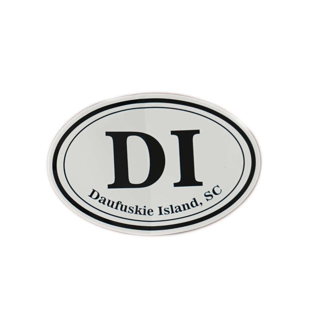 DAUFUSKIE ISLAND Large Size Sticker - Daufuskie Difference
