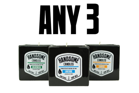 Any 3 Handsome Candles