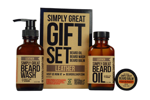 Simply Great Leather Gift Set