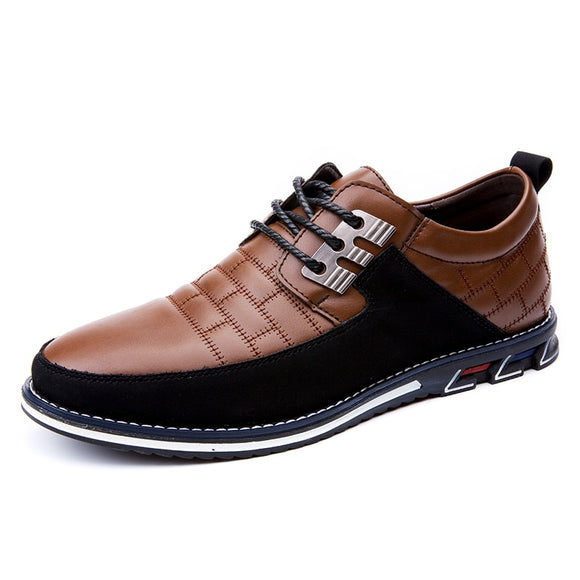 2020 Men Shoes Leather Formal Comfortable Men Casual Shoes Breathable Breathable Casual Leather Shoes Men Handmade Oxford 48