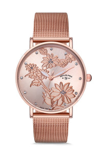 Aqua Di Polo APSV1-A5685-KH222 Straw Women Wrist watch