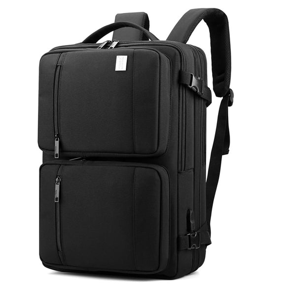 Waterproof Men's Travel Bag Fit 18 Inch Laptop Backpacks USB Multifunctional Backpack Large Capacity Back Pack Male Mochila Bags
