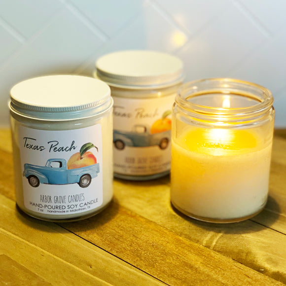 Texas Peach Candle