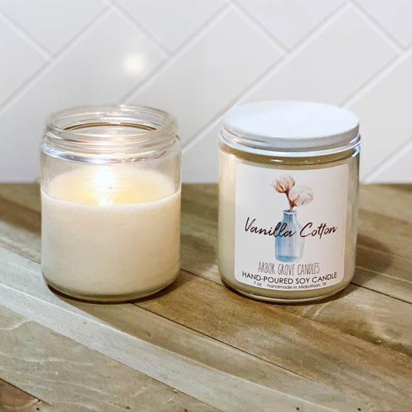 Vanilla Cotton Candle