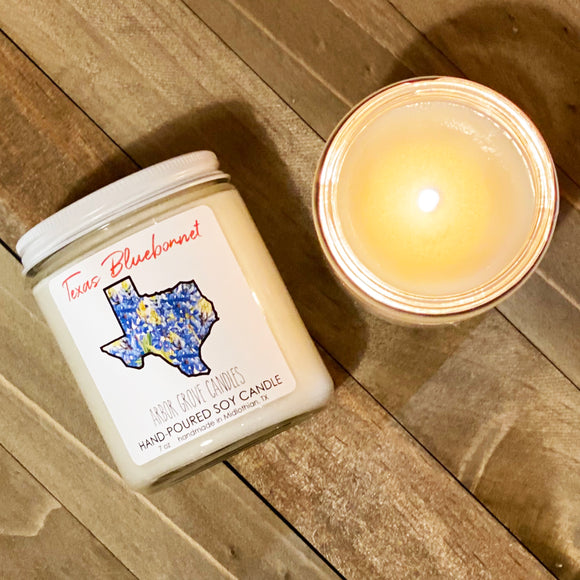 Bluebonnet Candle
